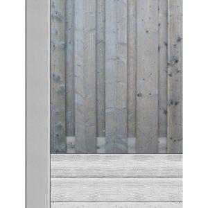 Beton hout schutting bij Schutting33.nl